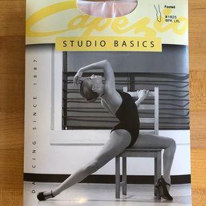Capezio Studio Basics Ballet Pink Dance Tights